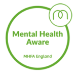 Mental Health Aware badge